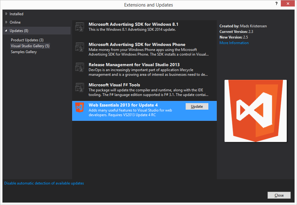 How to install iOS and Android SDKs for Visual Studio 2013